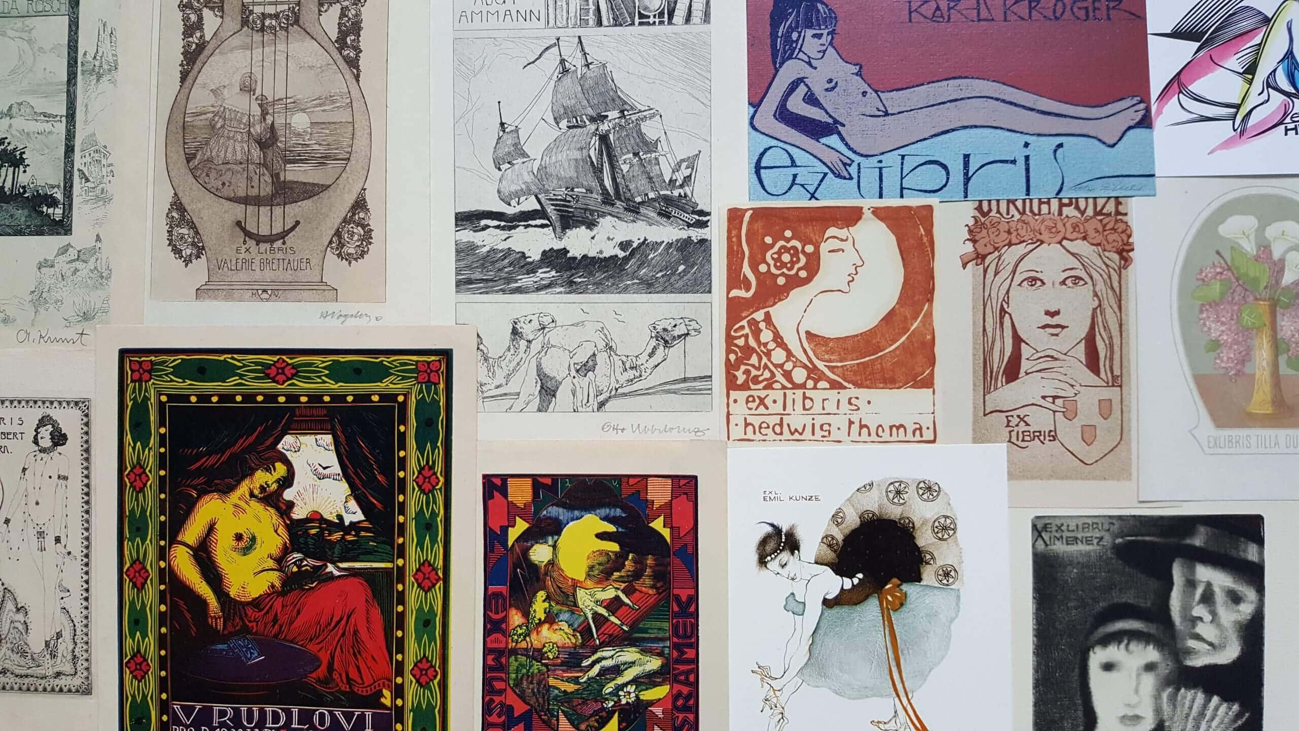 Website Bild Exlibris 1 Über das Exlibris