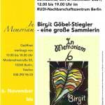 Birgit Göbel-Stiegler – eine große Sammlerin