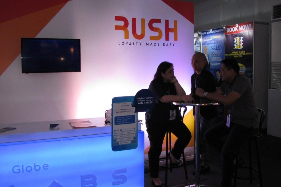 Rush Rewards Ad Summit Pilipinas 2018 Tradex