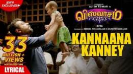 Kannaana Kannney Song Lyrics with english translation/meaning - Viswasam