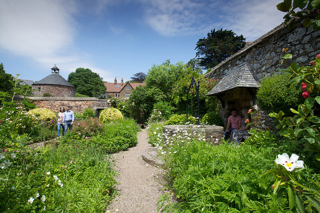 Village Gardens, Dunster, Exmoor