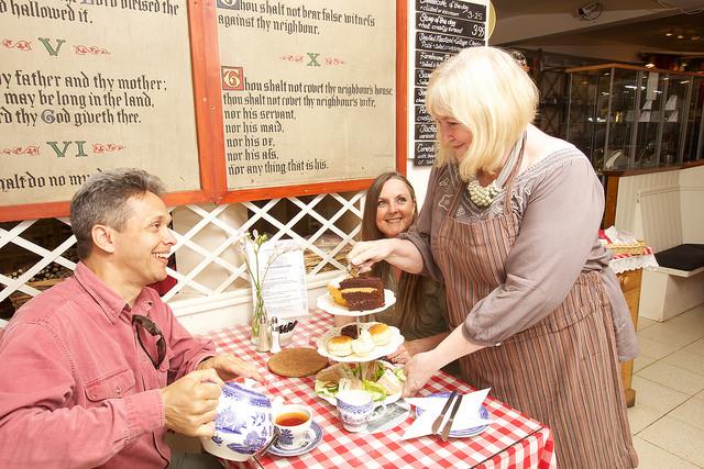 Cream Tea, Dunster, Exmoor