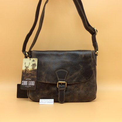 Rowallan Leather Bag. 9267. Brown