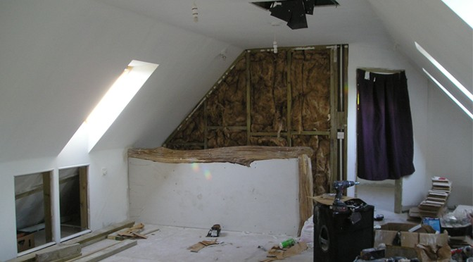 The Bulworthy Guest Blog: The House Build Stage 6