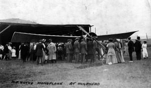 Mercury monoplane at Minehead 1911