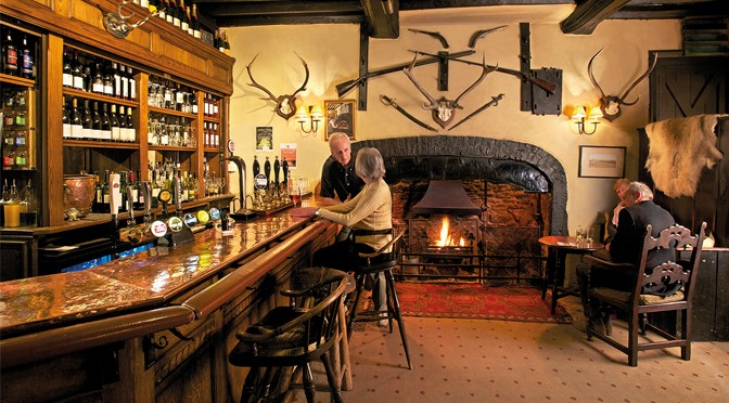 Eating Out at The Luttrell Arms, Dunster