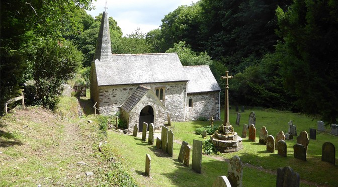 TO CULBONE CHURCH IN COLERIDGE'S FOOTSTEPS
