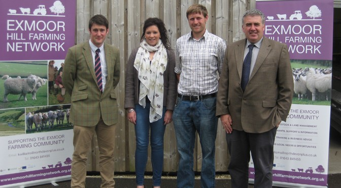 EXMOOR HILL FARMING NETWORK SECURES FIRST SPONSOR