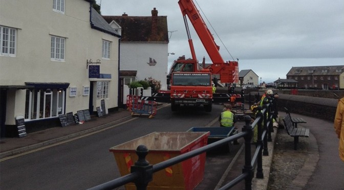 CLIFF REPAIRS ABOVE QUAY STREET, MINEHEAD
