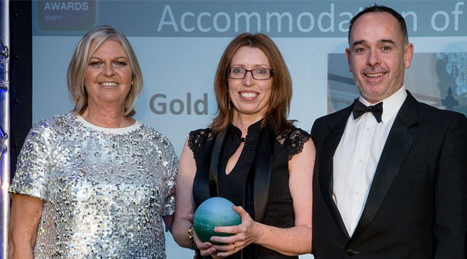 DUNKERY BEACON COUNTRY HOUSE HOTEL & HESTERCOMBE WINNERS AT SOUTH WEST TOURISM AWARDS