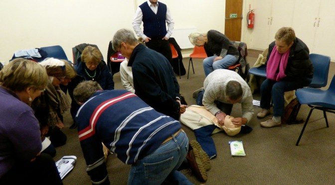 PORLOCK: THE VILLAGE WHERE 100 PEOPLE COULD SAVE YOUR LIFE
