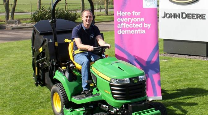 DRIVING THE DISTANCE FOR DEMENTIA WITH JOHN DEERE
