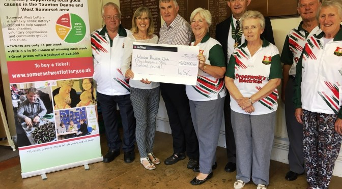 WATCHET BOWLING CLUB STARTS TO REALISE ITS DREAM