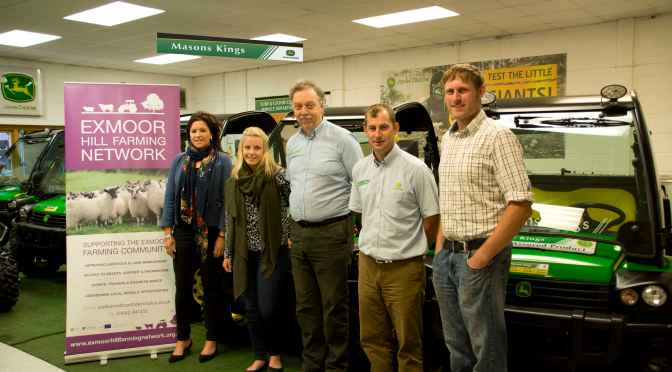 MASONS KINGS SPONSOR EXMOOR HILL FARMING NETWORK