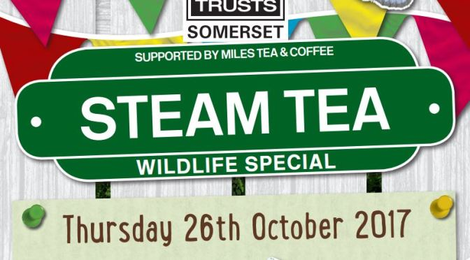 THE WILDLIFE EXPRESS COMES TO THE WEST SOMERSET STEAM RAILWAY
