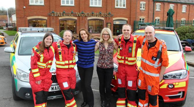 HALL & WOODHOUSE ANNOUNCE TWO-YEAR CHARITY PARTNERSHIP WITH OUR AIR AMBULANCES