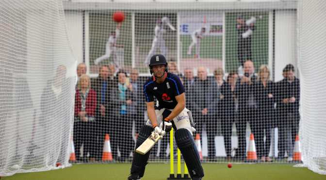 ENGLAND CRICKETER JOS BUTTLER OPENS KING'S NEW SPORTS FACILITY