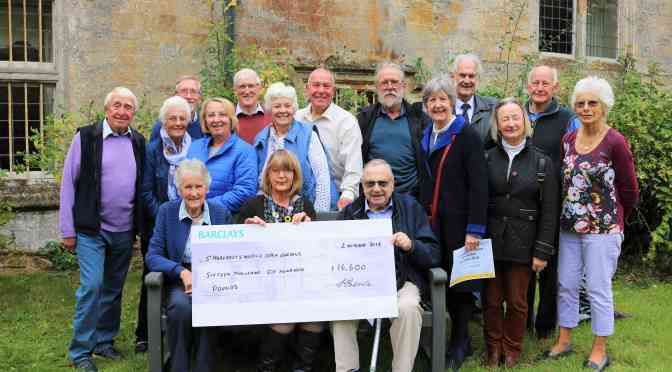 SOMERSET GARDENERS GROW SUPPORT FOR ST MARGARET'S HOSPICE
