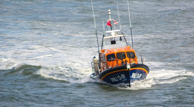 RNLI ILFRACOMBE LAUNCHED TO ASSIST WITH SEARCH FOLLOWING CAR CLIFF FALL