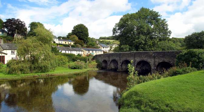 A WALKING TRIP TO EXMOOR RELYING SOLELY ON PUBLIC TRANSPORT