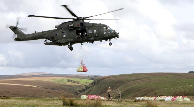 MERLIN HELICOPTERS HELP MEND OUR MOUNTAINS
