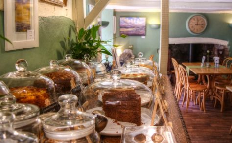 Periwinkle Cottage Tearooms at Selworthy