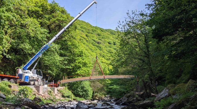 RETURN OF LYNMOUTH BRIDGE 'WILL BRING JOY FOR YEARS TO COME'