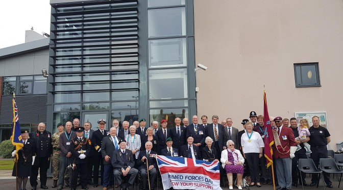 SWT MARKS ARMED FORCES DAY