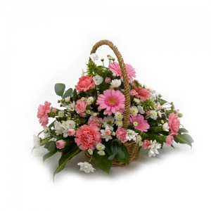 Pretty Flower Basket