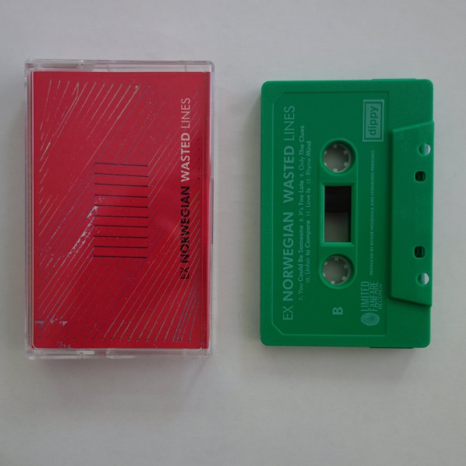 Ex Norwegian - Wasted Lines tape
