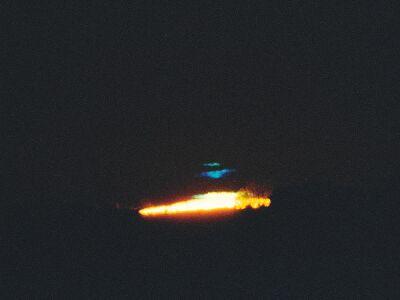 Bill May © 1999 Blue flash at sunrise