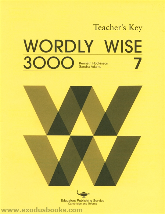 Wordly Wise Book 7