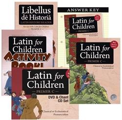 Latin for Children Primer C - Mastery Bundle - Exodus Books