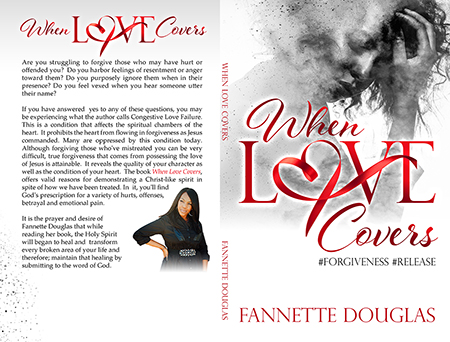 When Love Covers - Christian book cover design