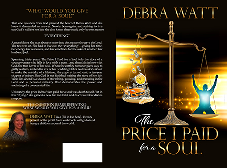 The Price I Paid for a Soul - Christian book cover design