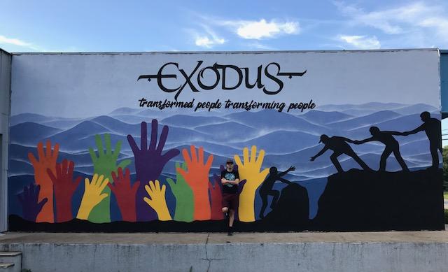 Exodus Homes Mural