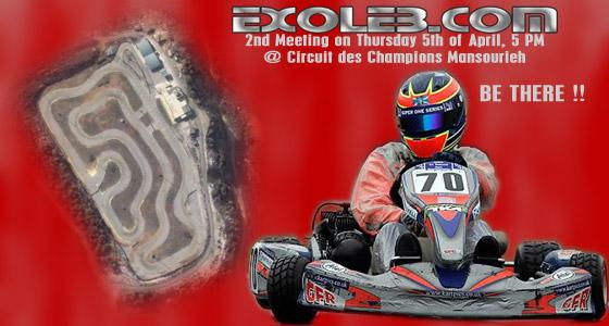 exoleb 2nd meeting karting