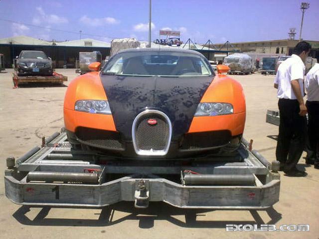 Bugatti Veyron, Beirut Airport Lebanon