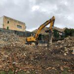 Excavación en Búger