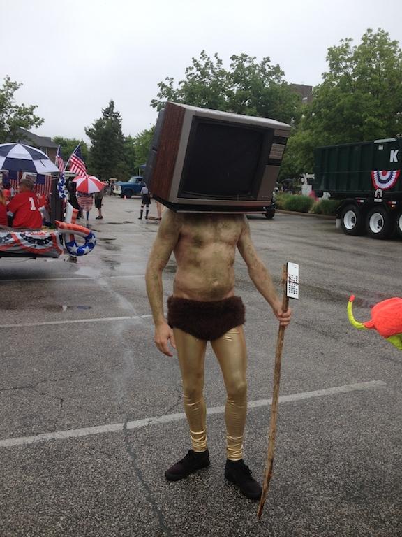 tv god straight on