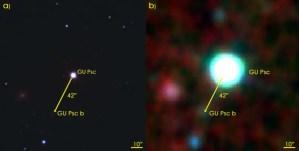Découverte d'une exoplanète à très grande séparation autour d'une étoile de faible masse.