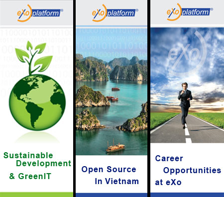 eXo Platform in Vietnam: GreenIT, Open Source and Career oportunities