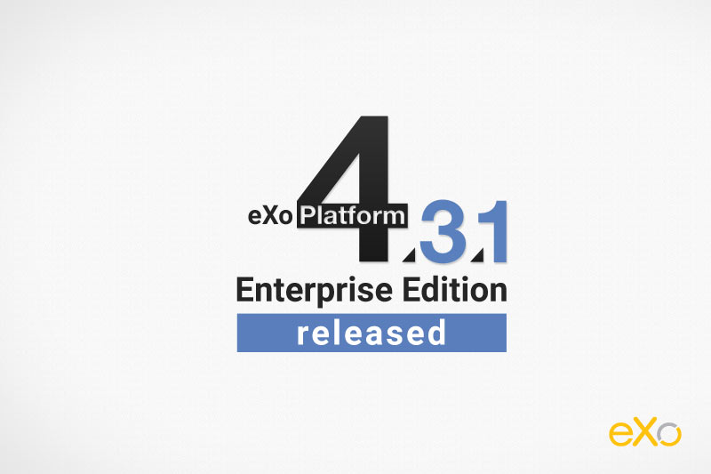 eXo Enterprise Edition Released