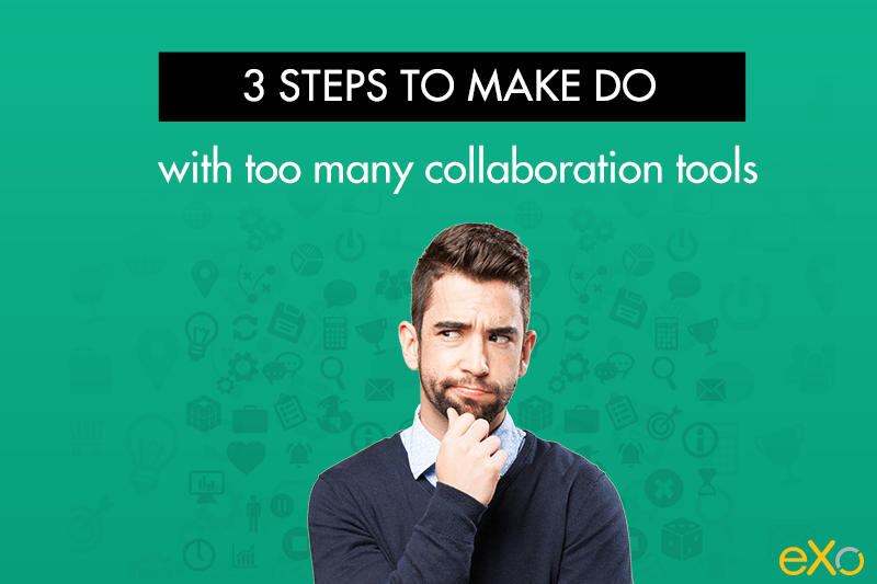 handle too many collaboration tools