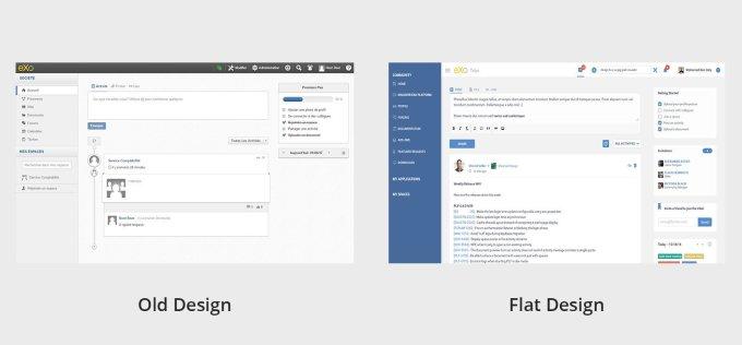 A Look At Exo Platform 5 New Design Internal Communication Tools