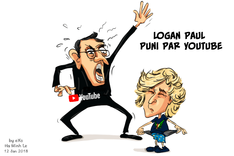 YouTube, Logan Paul