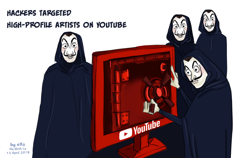 Hackers, Youtube