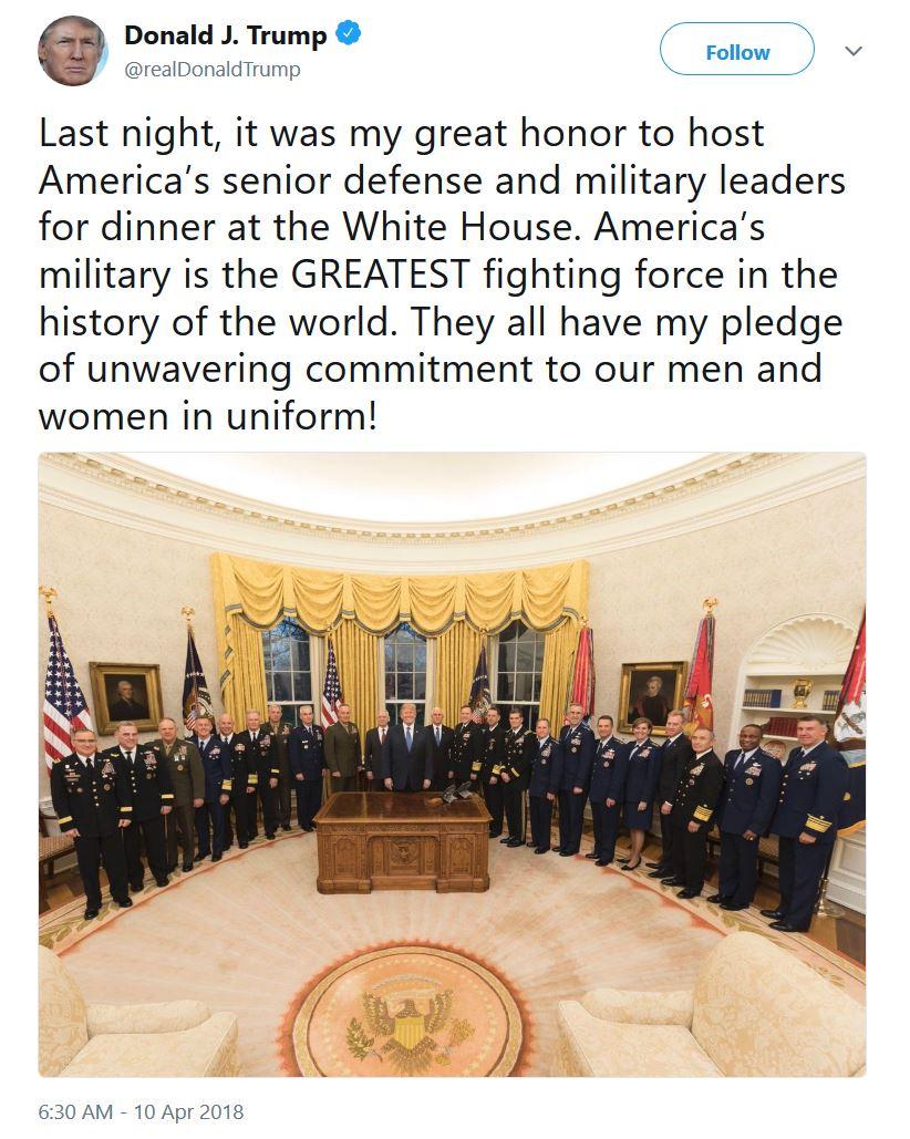 Майкл Салла: QAnon — это американская военная разведка, которая привлекла Трампа к президенству, чтобы избежать государственного переворота Trump-Tweet-and-US-Military