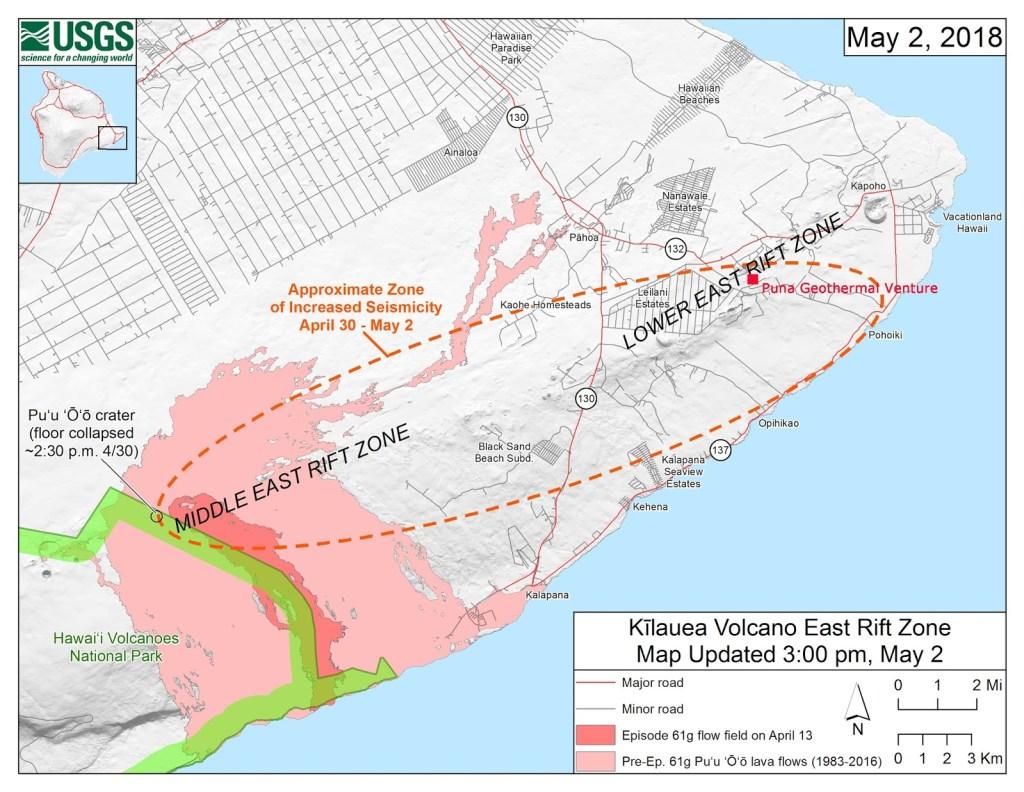 МАЙКЛ САЛЛА 15 МАЯ 2018 Г  Извержение Гавайского вулкана было умышленно спровоцировано для создание массового цунами? East-Rift-Zone-and-Puna-Geothermal