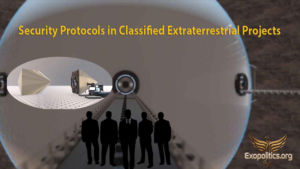 Resultado de imagem para Security Protocols in Classified Extraterrestrial Projects